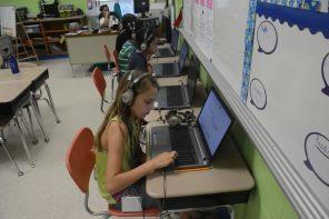 Summer classroom setting at Dream Catcher. (Karim Shamshi-Basha/Alabama NewsCenter)