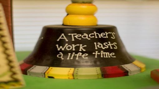 """A teacher's work lasts a life time."" (Photo courtesy of UAB)"