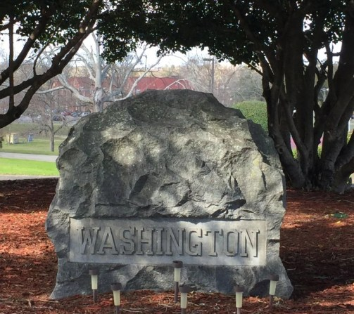 Booker T. Washington is buried at Tuskegee Institute. (Donna Cope/Alabama NewsCenter)