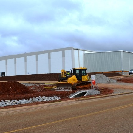 Gestamp, in 2017, building a new facility as part of its latest expansion in JeffMet McCalla. (Michael Tomberlin)