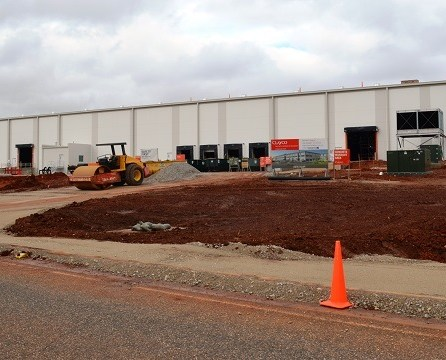 Gestamp's latest expansion in spring 2017 in JeffMet McCalla is an entirely new building the auto supplier is constructing on a site across from its current plant. (Michael Tomberlin)