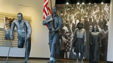 Lowndes Interpretive Center exhibition is one of the stops on the Selma to Montgomery National Historic Trail. (Erin Harney / Alabama NewsCenter)