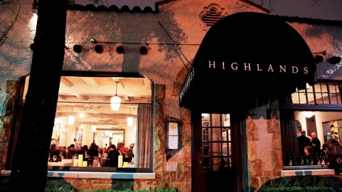 Highlands Bar and Grill is once again in the finals for Outstanding Restaurant Award in the nation at the James Beard Awards. (file)