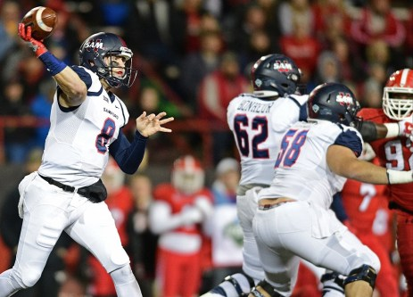 Samford quarterback Delvin Hodges is the reigning Southern Conference Player of the Year. (Samford Athletics)