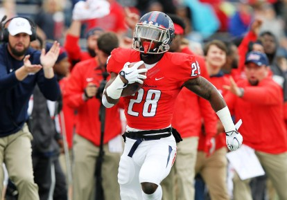 South Alabama running back Xavier Johnson brings loads of experience and ability to the Jaguars team this year. (Scott Donaldson)