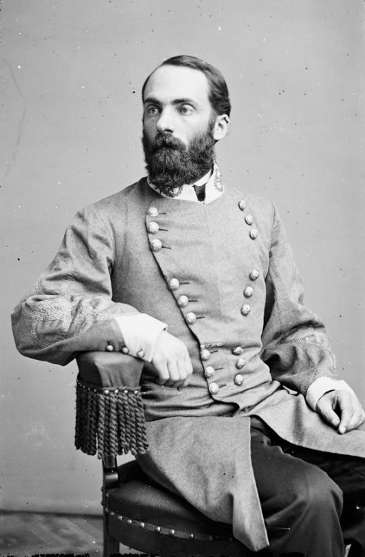 Portrait of Maj. Gen. Joseph Wheeler, officer of the Confederate Army. (Library of Congress Prints and Photographs Division)