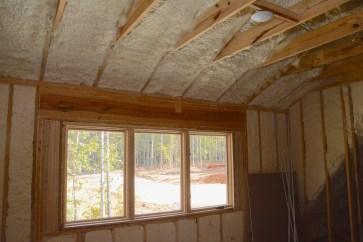 Spray foam insulation. (Karim Shamsi-Basha / Alabama NewsCenter)