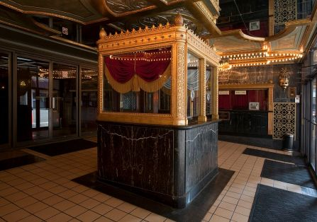 Interior, box office, Alabama Theatre, Birmingham, 2010. The George F. Landegger Collection of Alabama Photographs in Carol M. Highsmith's America, Library of Congress, Prints and Photographs Division)