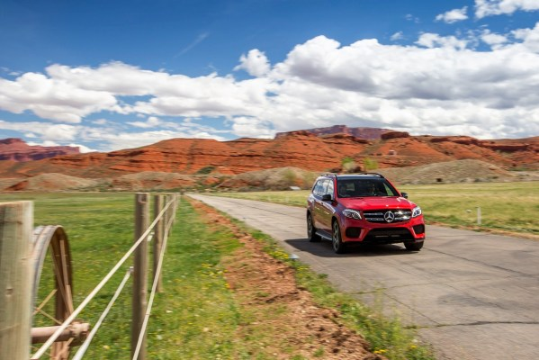 The 2017 Mercedes-Benz GLS550. The company offers more SUV models than its competitors. (Mercedes)