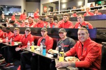Coaches and players from Texas Tech and South Florida got in some laughs at the Stardome Comedy Club as part of their time in the Magic City for the Birmingham Bowl. (Birmingham Bowl)