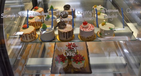 In addition to the chocolates, the staff at Pizzelle's Confections make cakes. (Karim Shamsi-Basha / Alabama NewsCenter)