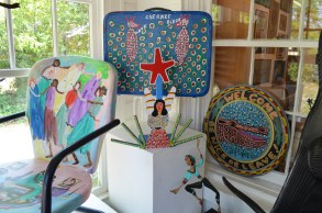 Self-taught artists can be classified as outsider, visionary or folk artists. (Anne Kristoff / Alabama NewsCenter)