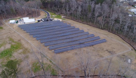 The Southeast's first community-scale microgrid powers the Smart Neighborhood in Hoover. (Jim Leverette)