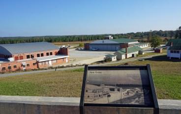 Overlook of the Tuskegee Airmen National Historic Site, Tuskegee, Alabama. (Erin Harney/Alabama NewsCenter)