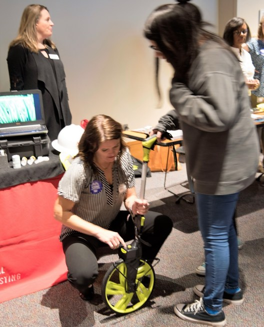 Girls in Engineering Day at McWane Science Center promoted careers in science and engineering to young women throughout Alabama. (Brittany Faush / Alabama NewsCenter)