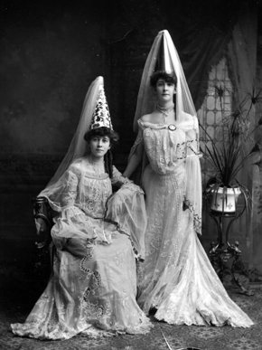 Although no information exists to tell us who these women were or exactly when the photograph was taken, this is certainly a beautiful image of two Mardi Gras revelers. (From Encyclopedia of Alabama, courtesy of the Doy Leale McCall Rare Book and Manuscript Library)