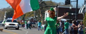 Maggie Haas, Grand Marshal of the St. Patrick's Day Parade in Enterprise. (Brittany Faush/Alabama NewsCenter)