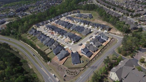 Alabama Power's Smart Neighborhood at Reynolds Landing is a community built for energy efficiency using microgrid technology. (Alabama Power)