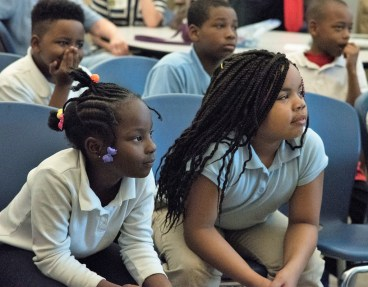 More than 200 students in 13 Birmingham schools were enrolled in the STAIR program this year. (Brittany Faush/Alabama NewsCenter)
