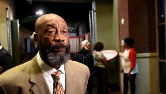Football great Tony Nathan, pictured, will appear with former high school rival and Alabama Crimson Tide teammate Jeff Rutledge at a Thursday benefit for Banks Academy. (Solomon Crenshaw Jr./Alabama NewsCenter)