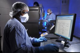 Researchers work in a Southern Research drug development lab. (Southern Research)