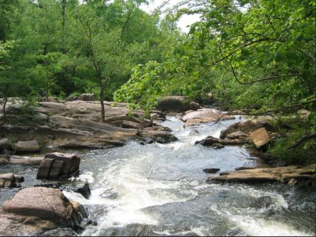Streams of water at Chewacla State Park (file)