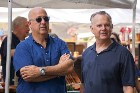 Andrew Zimmern says he believes Highlands' Frank Stitt has earned a place in restaurant history books, but he's an even better person than he is a chef. (Erin Harney/Alabama NewsCenter)