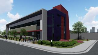 DC BLOX's data center campus has a projected $785 million in capital investment over the next 10 years on the former Trinity Steel site. (DC BLOX)