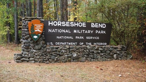 Horseshoe Bend National Military Park, Daviston, AL. (Alabama NewsCenter)