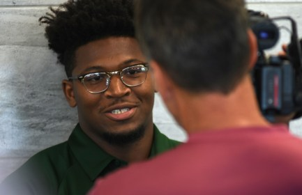 UAB standout Spencer Brown should help the Blazers light up the scoreboard this year. (Solomon Crenshaw Jr./Alabama NewsCenter)