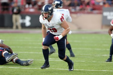 Tight end Collier Smith is expected to be a standout for South Alabama this year. (Scott Donaldson)