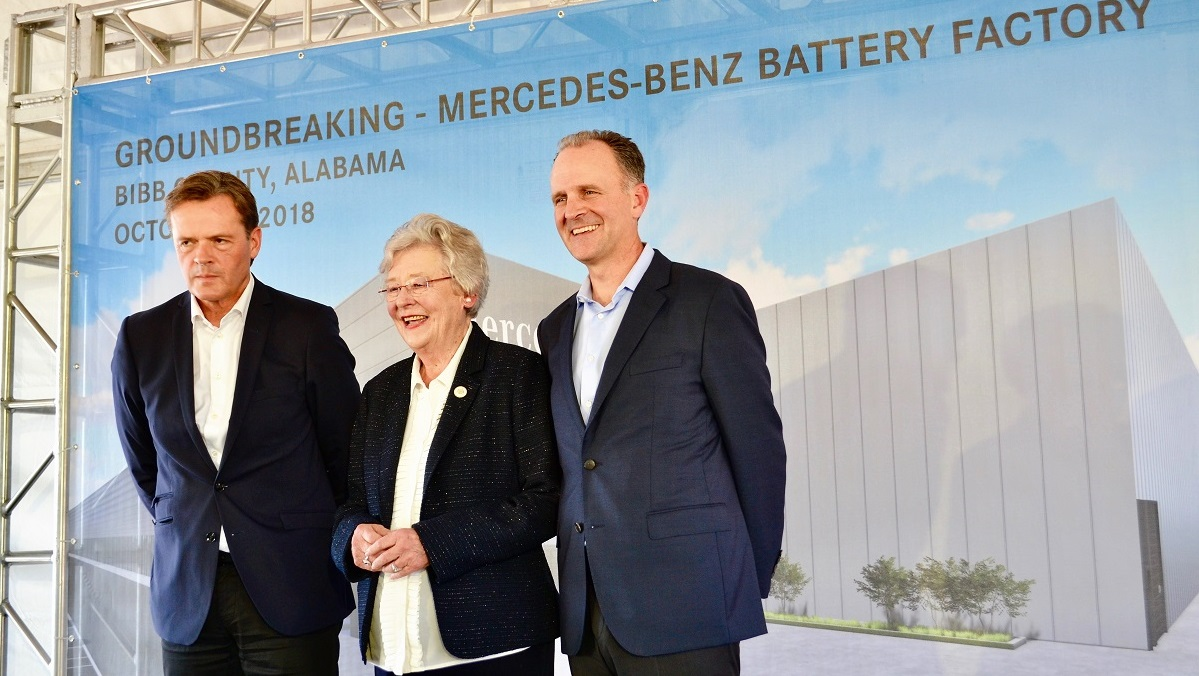 Mercedes launches construction of Alabama battery plant for EVs