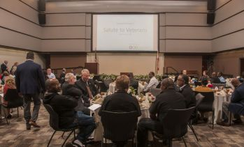 More than 60 veterans attended. (Billy Brown/Alabama NewsCenter)