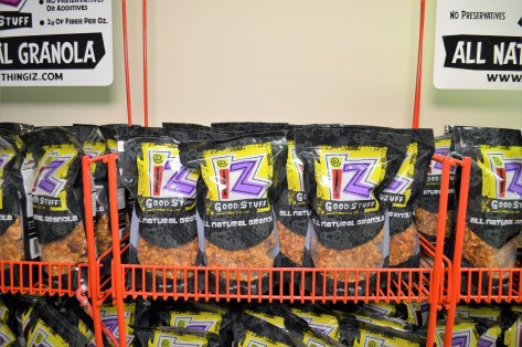 Iz Good Stuff Granola can be found in stores across Alabama and one in Pensacola. (Michael Tomberlin / Alabama NewsCenter)