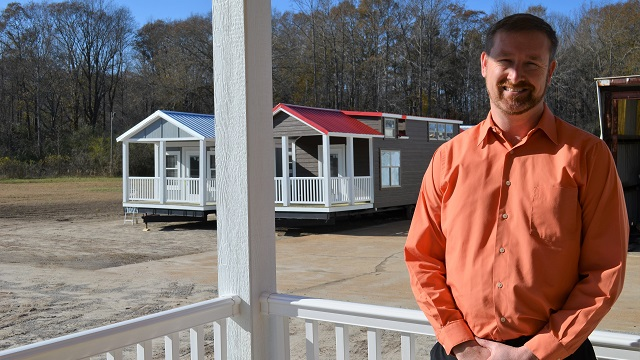 Stone Canyon Cabins is an Alabama Maker that's a big player in the tiny house business
