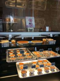 Sweet potato pie started it all, but it's just one of the desserts customers can purchase at JaWanda's Sweet Potato Pies. (Keisa Sharpe)