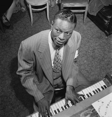 Portrait of Nat King Cole, c. 1947. (Library of Congress, Wikipedia)