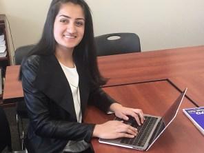 Amrita Lakhanpal has dedicated herself to getting Birmingham elementary students the technological tools they need to prepare for their futures. (Karim Shamsi-Basha/Alabama NewsCenter)