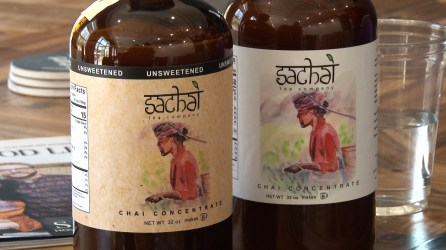 Sachai Tea Company makes concentrated chai used in coffee shops and sold directly to customers. (Dennis Washington / Alabama NewsCenter)