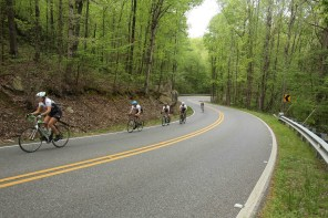 It takes a lot of training to get ready for the Dam Ride. (Meg McKinney/Alabama NewsCenter)