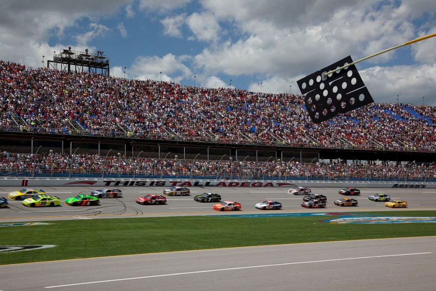 Talladega Superspeedway Race, 2010. (The George F. Landegger Collection of Alabama Photographs in Carol M. Highsmith's America, Library of Congress, Prints and Photographs Division)