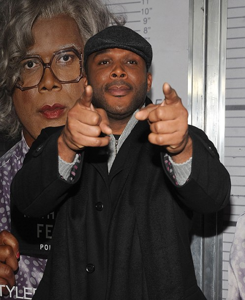 """Tyler Perry's Mabel """"Madea"""" Simmons will perform with Tamela Mann, David Mann and Cassi Davis Patton in Madea's Farewell Play Tour May 22 at 7 p.m. (Brad Barket/Getty Images)"""