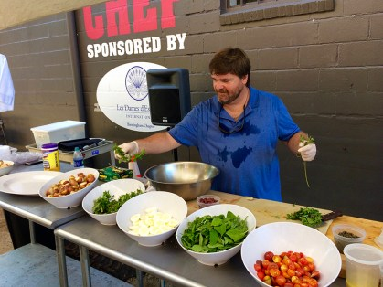 Previous cooking demonstration featured at The Market at Pepper Place.. (Hannah Beasley)