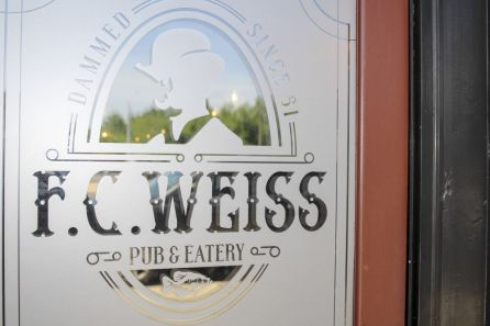 F. C. Weiss Pub & Eatery is a tribute to Weiss Lake and Dam. (Justin Averette)