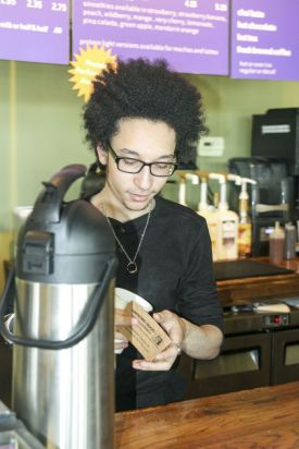 Brewing up something good to serve customers at F.C. Weiss Pub & Eatery. (Justin Averette)