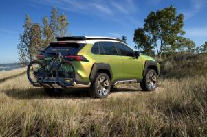 Toyota isn't saying whether its new Alabama-built SUV will have any design elements of features of past concept vehcilees like the FT-AC. (Toyota)