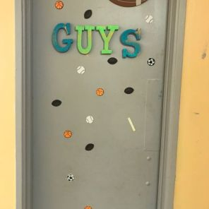 The Guys have their own room. (Keisa Sharpe)