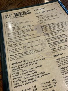 Here's a look at what's on the menu at this popular grill. (Justin Averette)