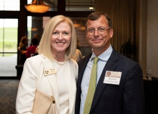Alabama Power's Susan Comensky and Mike Jordan attend the Governor's Conservation Achievement Awards. (Christopher Jones/Alabama NewsCenter)