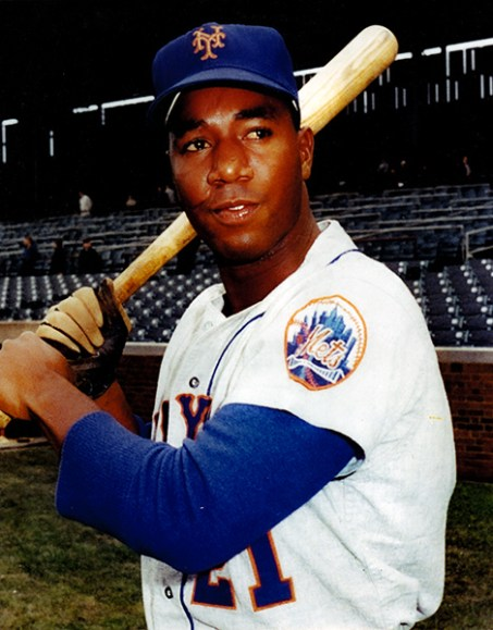 "Plateau native Cleon Jones played football for Alabama A&M University before joining the New York Mets in 1963. He was part of the ""Miracle Mets"" who upset the Baltimore Orioles in the 1969 World Series. Jones played his last season with the Chicago White Sox in 1976 and was inducted into the New York Mets Hall of Fame in 1991. (From Encyclopedia of Alabama, Alabama Sports Hall of Fame)"